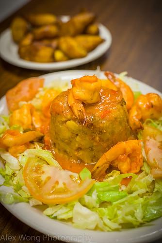 Mofongo de Camarones/Shrimp Mofongo