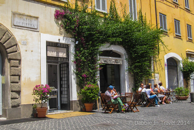 Aperitivo bar in Rome