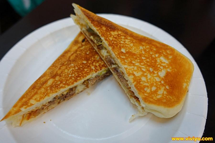 三明治,古巴三明治,墨西哥烤餅,早餐店,桃園早餐,桃園美食 @VIVIYU小世界