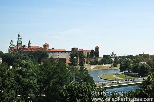 View from Novotel Centrum Krakow