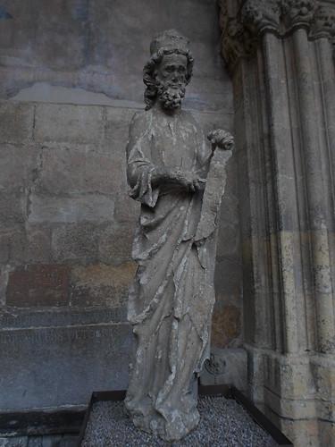 Zacharias, West Facade, Santa Maria de Leon