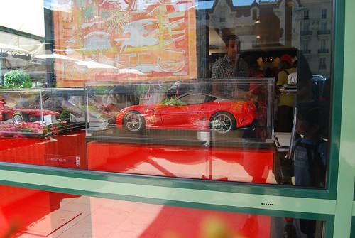 Luxurious cars in Monaco