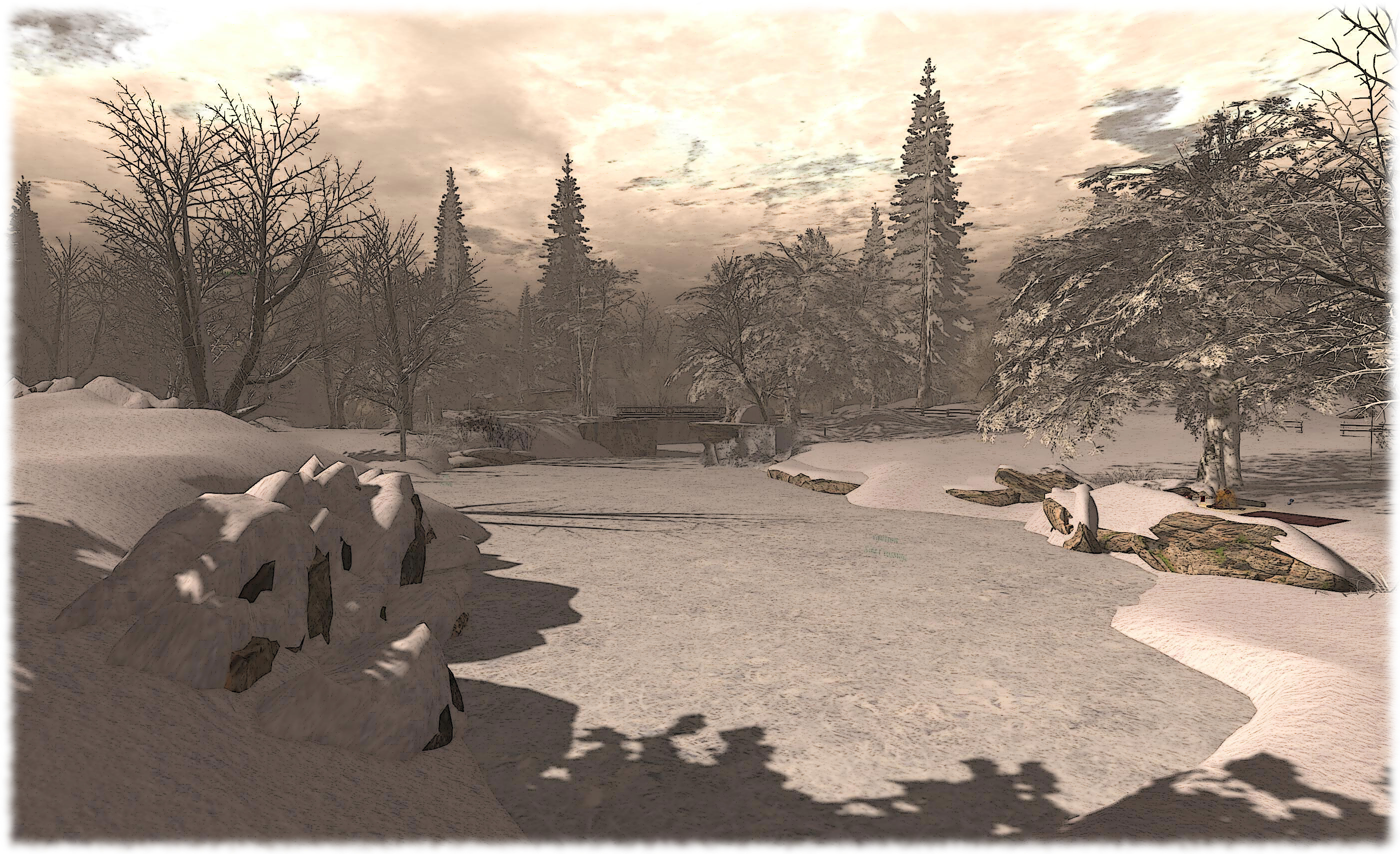 Calas Galadhon Parklands, December 2013