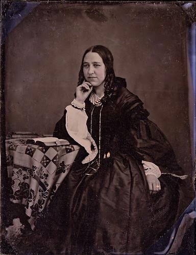 English Miss No. 2, 1/4th-Plate Ambrotype, Circa 1859