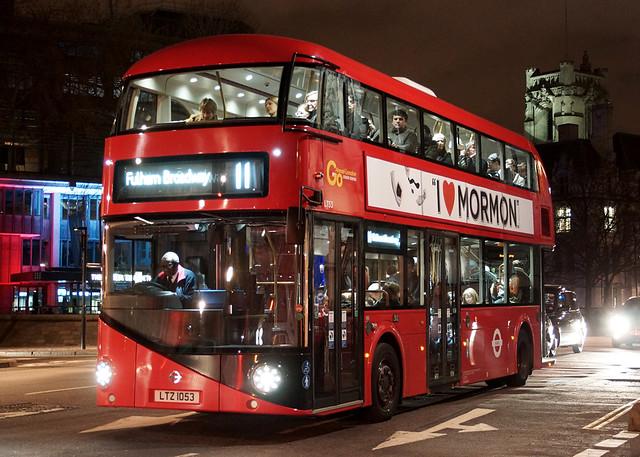 TfL LTZ 1053 - Victoria Street, London