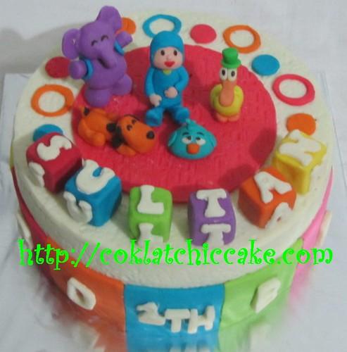 Kue ulang tahun pocoyo