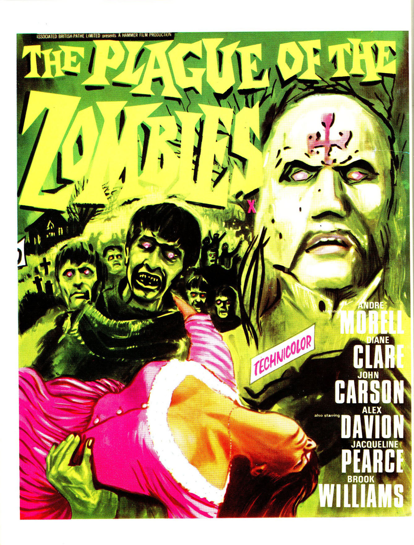 Plague of the Zombies back cover