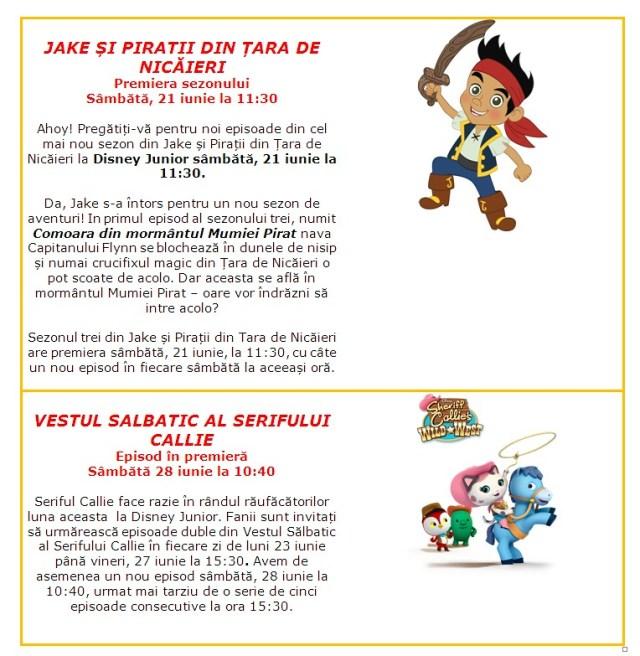 Jack Si Piratii Din Tara De Nicaieri Desene Animate