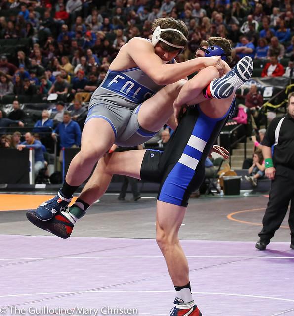 220 - Noah Ryan (Kasson-Mantorville) over Tyson Gothman (Foley) Maj 13-3