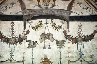 Fresco on the Ceiling in Palazzo Vecchio