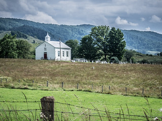 Church near Hightown, Virginia