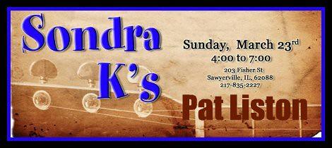 Pat Liston 3-23-14
