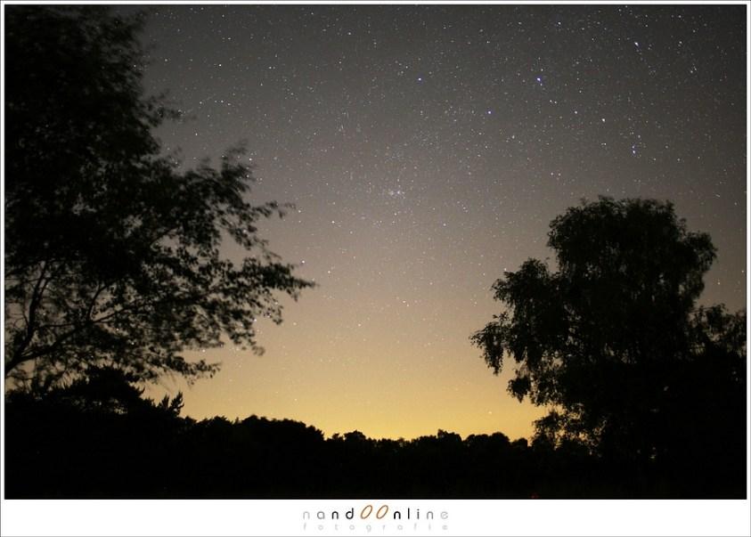 Een nieuwe sterrenregen de Camelopardalids. Wie kan casseiopeia herkennen?