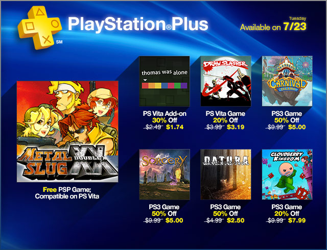 PlayStation Store Update 7-23-2013