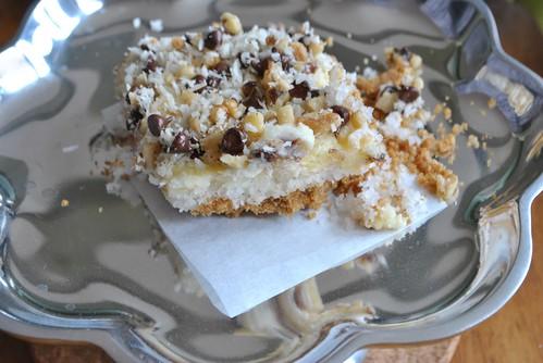 Coconut Cheesecake Bar