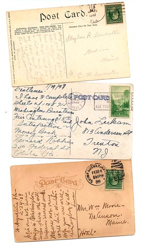 Vintage Postcards: To keep or to give away?