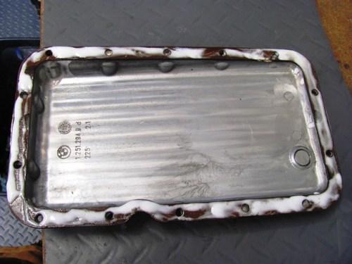 Permatex Gasket Remover Soaking In