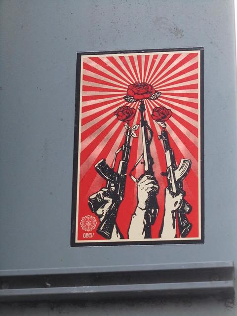 Obey sticker - Shepard Fairey