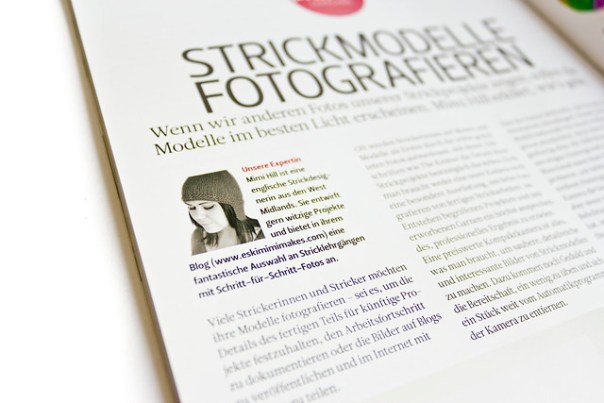 Close up of German text
