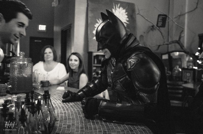 Batman walks into a bar