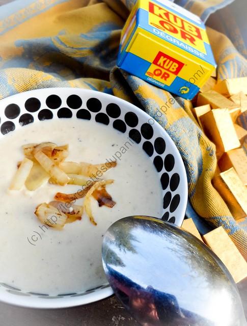 Soupe aux navets et oignons / Turnip and Onion Soup