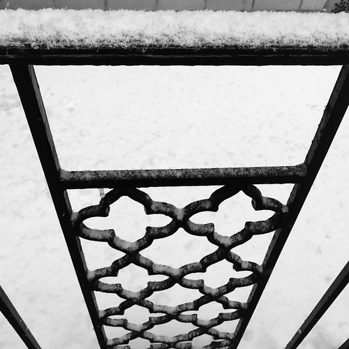 Snow and Iron by DJ Lanphier