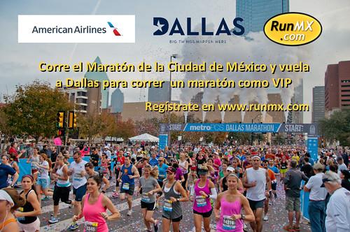 Corre el MCM y gana 2 números VIP para el Maratón de Dallas