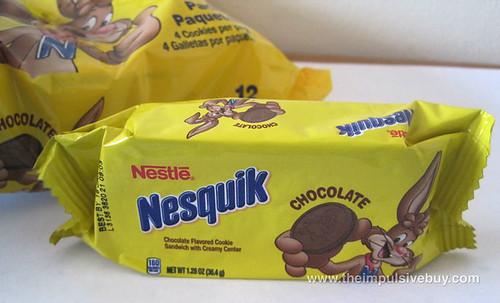 Nestle Nesquik Chocolate Cookies Nesquik pack of generosity
