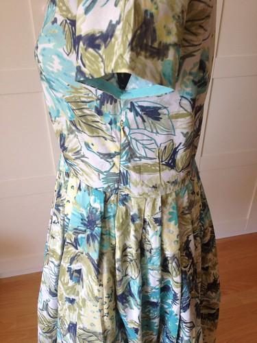 floral Vogue 5121 side zip