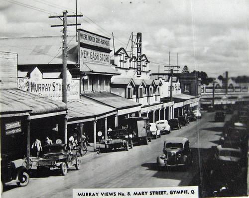 Mary Street, Gympie - circa 1940