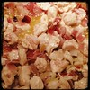 I add some cut up #Chicken to cool at the beginning of the #ItalianWeddingSoup cook
