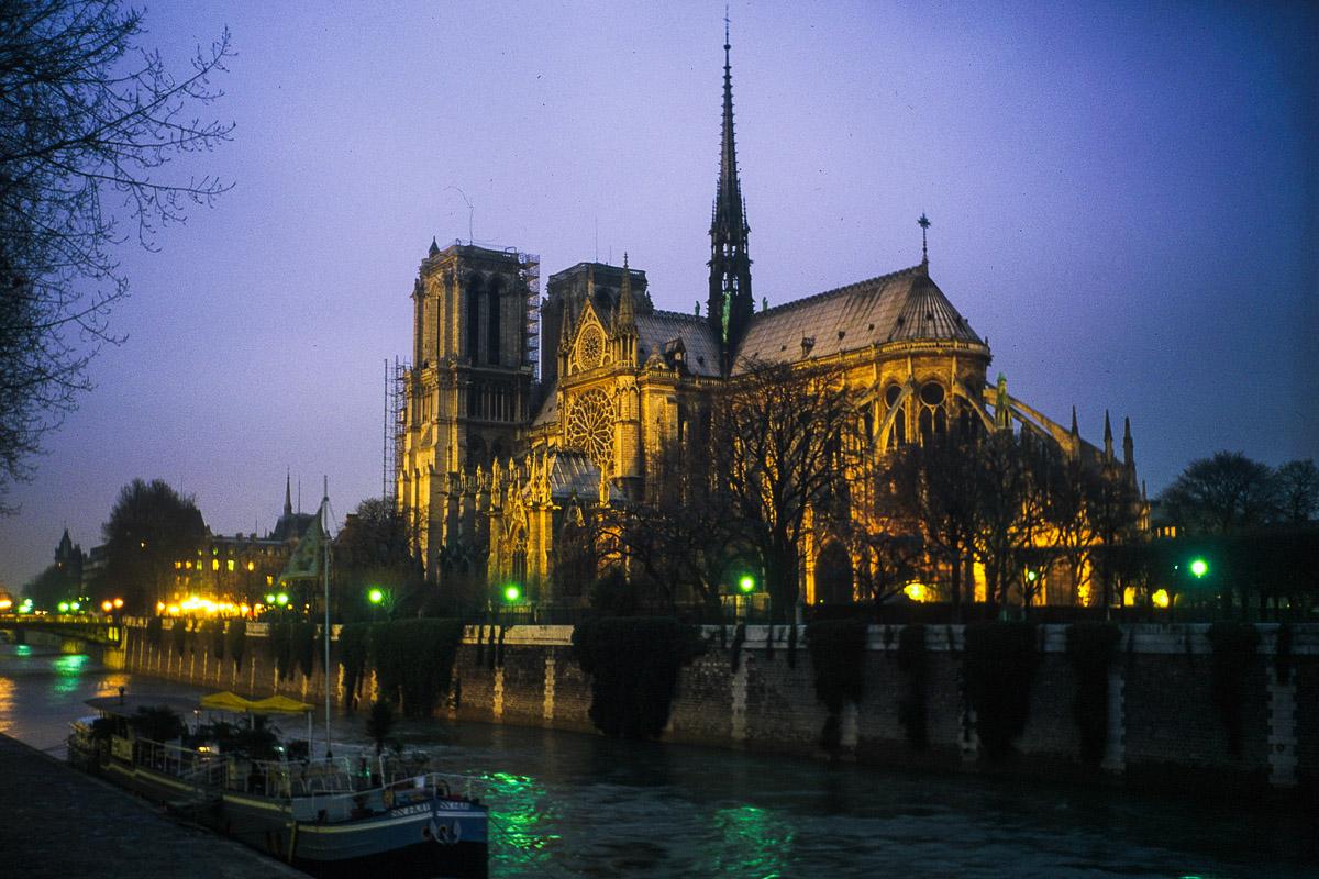 Sena y Notre-Dame