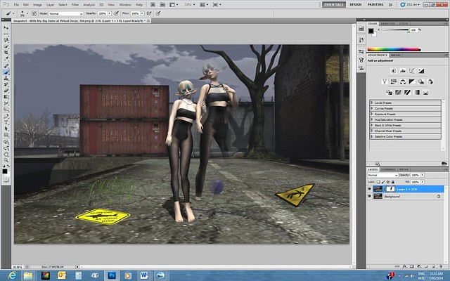 Screen Shot for Alles and Kynne (with Layer Mask & Kynne Partial)