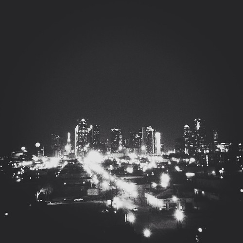 The DallasSkyline from DeepEllum. by developthis