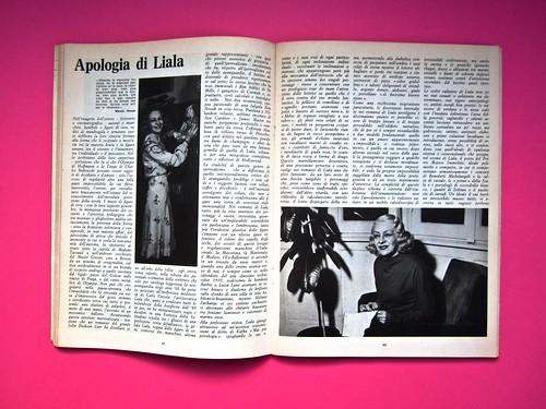 Alter Alter, marzo 1979, anno 6, numero 3. Direzione: Oreste del Buono, art director: Fulvia Serra. Pag. 48 e 49 (part.), 1