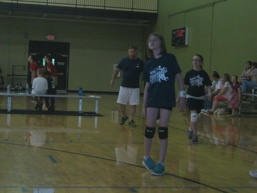 Aly volleyball