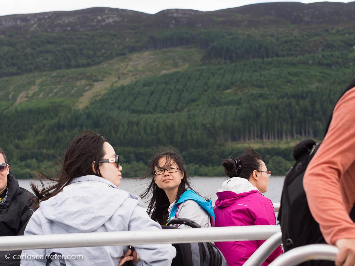 Crucero en Loch Ness