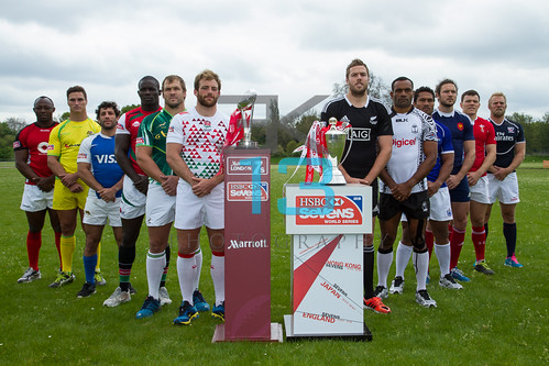Rugby: Launch of 2013 Marriott London 7s and captains photocall