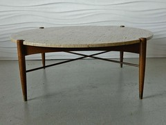 ***ON DECK*** Unbelievable Bruno Mathsson Swedish Mid Century Modern Coffee Table for Dux (Sweden, 1950s)