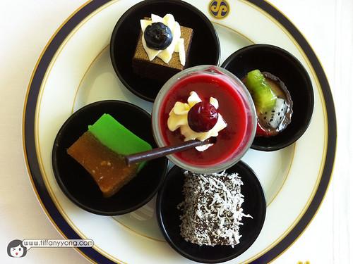 empire hotel dessert