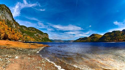 Fjord du Saguenay (Baie Éternité) by gaudreaultnormand