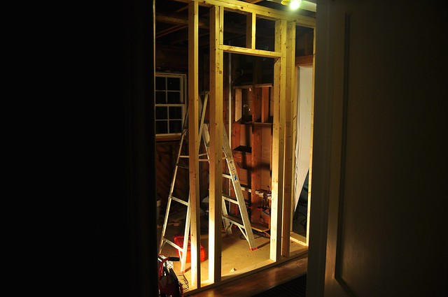 2012-02-09 Bathroom framing 02