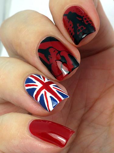 Fan Girl nails :D