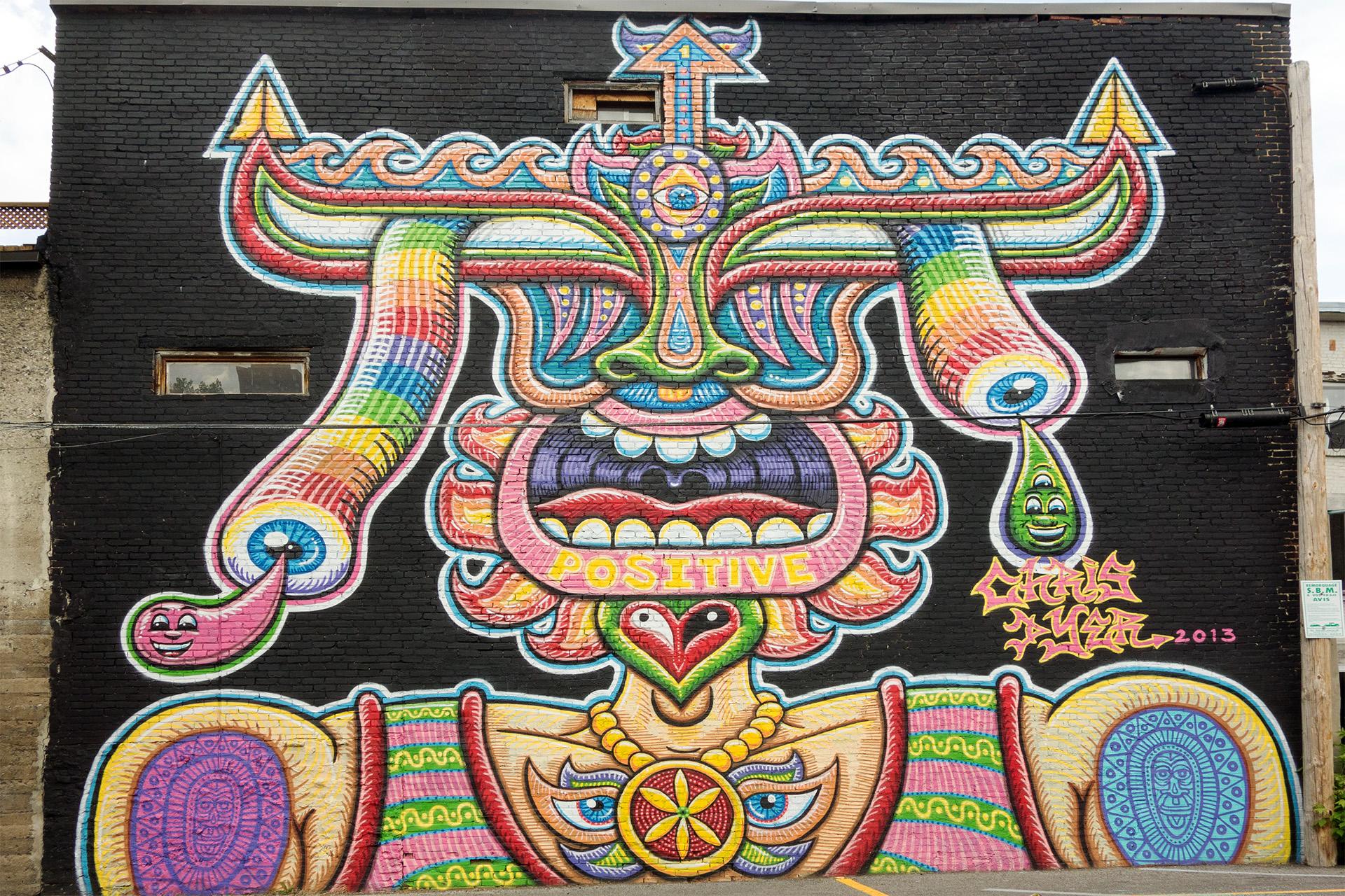 Positive - Mural