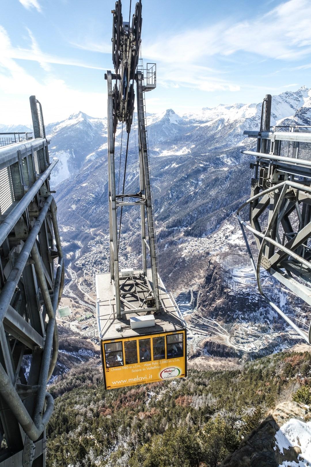 Funivia Snow Eagle Valtellina