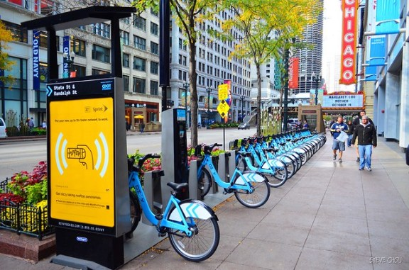 Divvy Bike Share Station