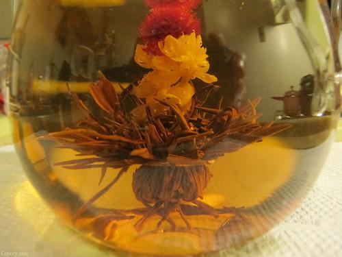Blooming Earl Grey tea by Coyoty