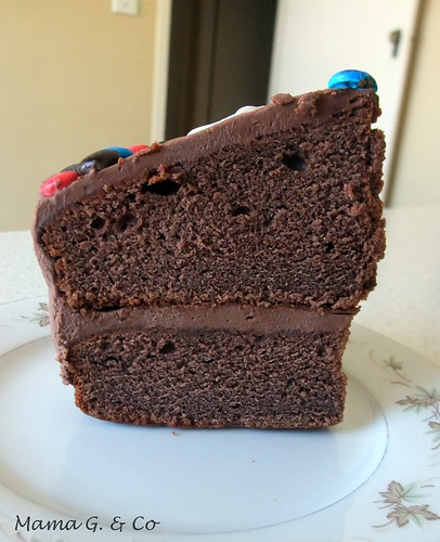 Chocolate Birthday Cake (3)