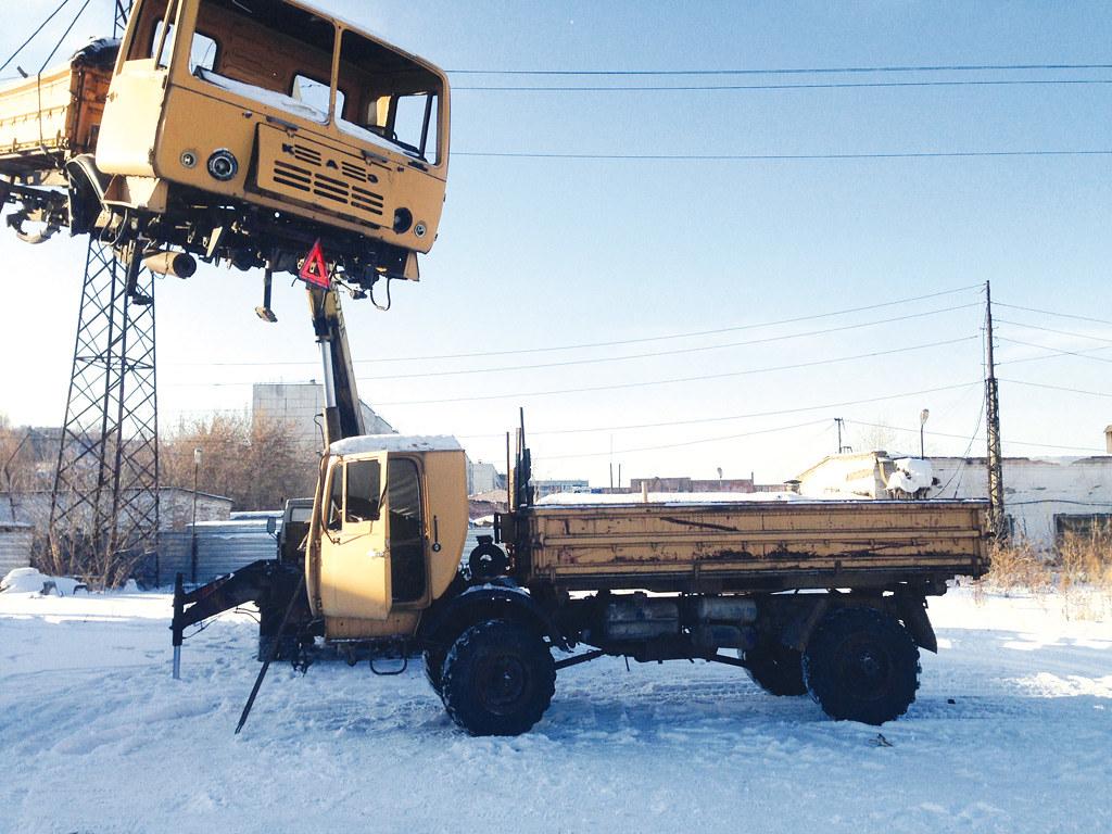 Из двух КАЗ-4540 решили собрать один