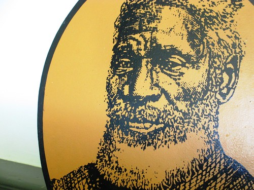 Image of Rev. Josiah Henson at the Uncle Tom's Cabin Historic Site, Chatham-Kent, Ontario.